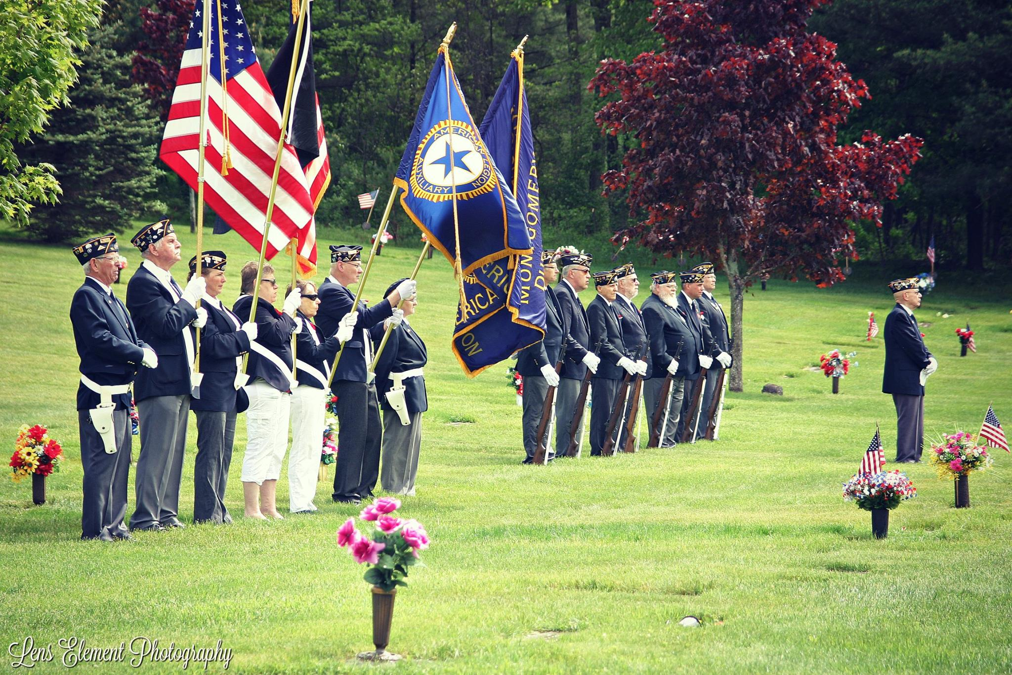 American legion full group Memorial Day
