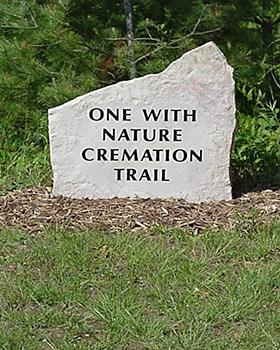 cremation nature trail
