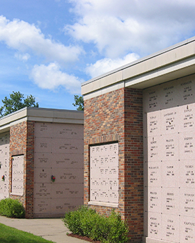 cremation outdoor niches