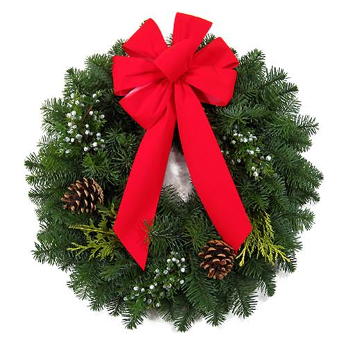 Large Fresh Pine Wreath