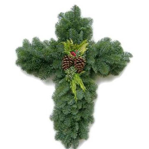 Fresh Pine Cross