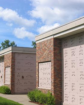 cremation outdoor niches